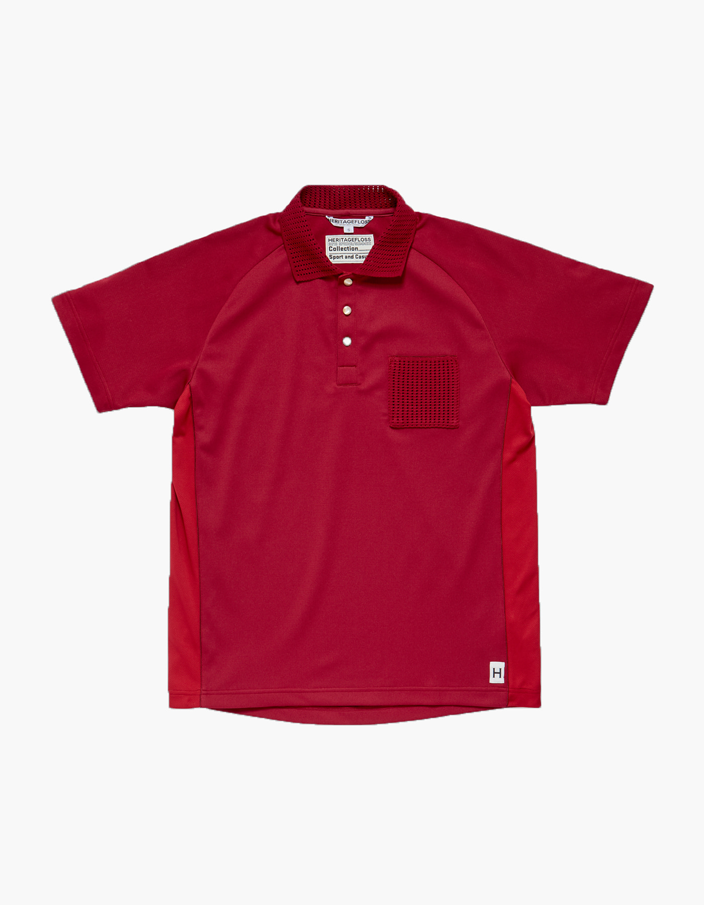 HFC CRICKET POLO SHIRTS / BURGUNDY