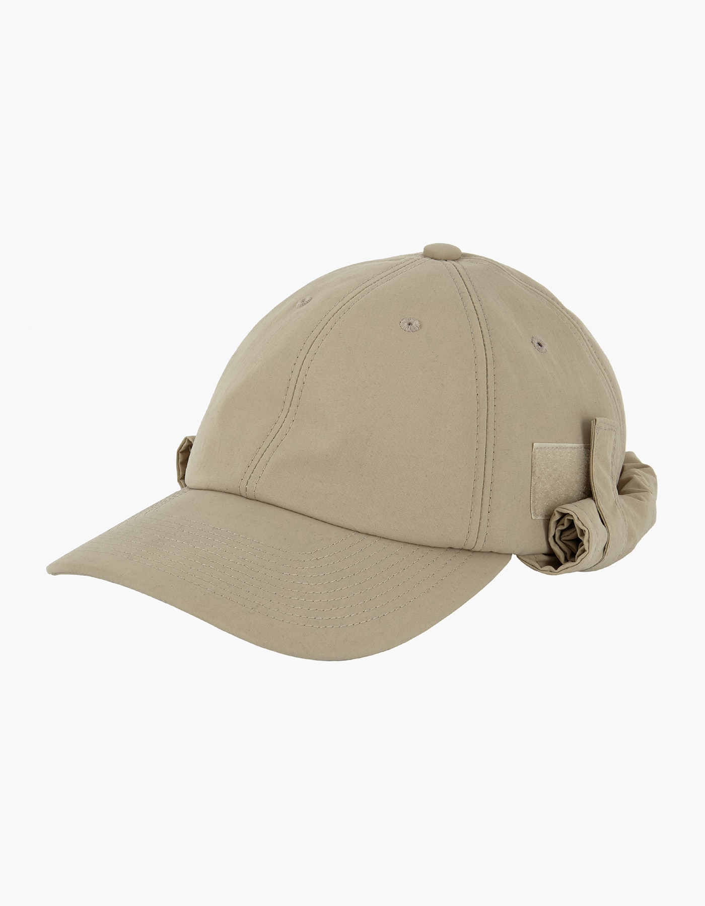 6 PANEL FLY FISHING CAP / BEIGE
