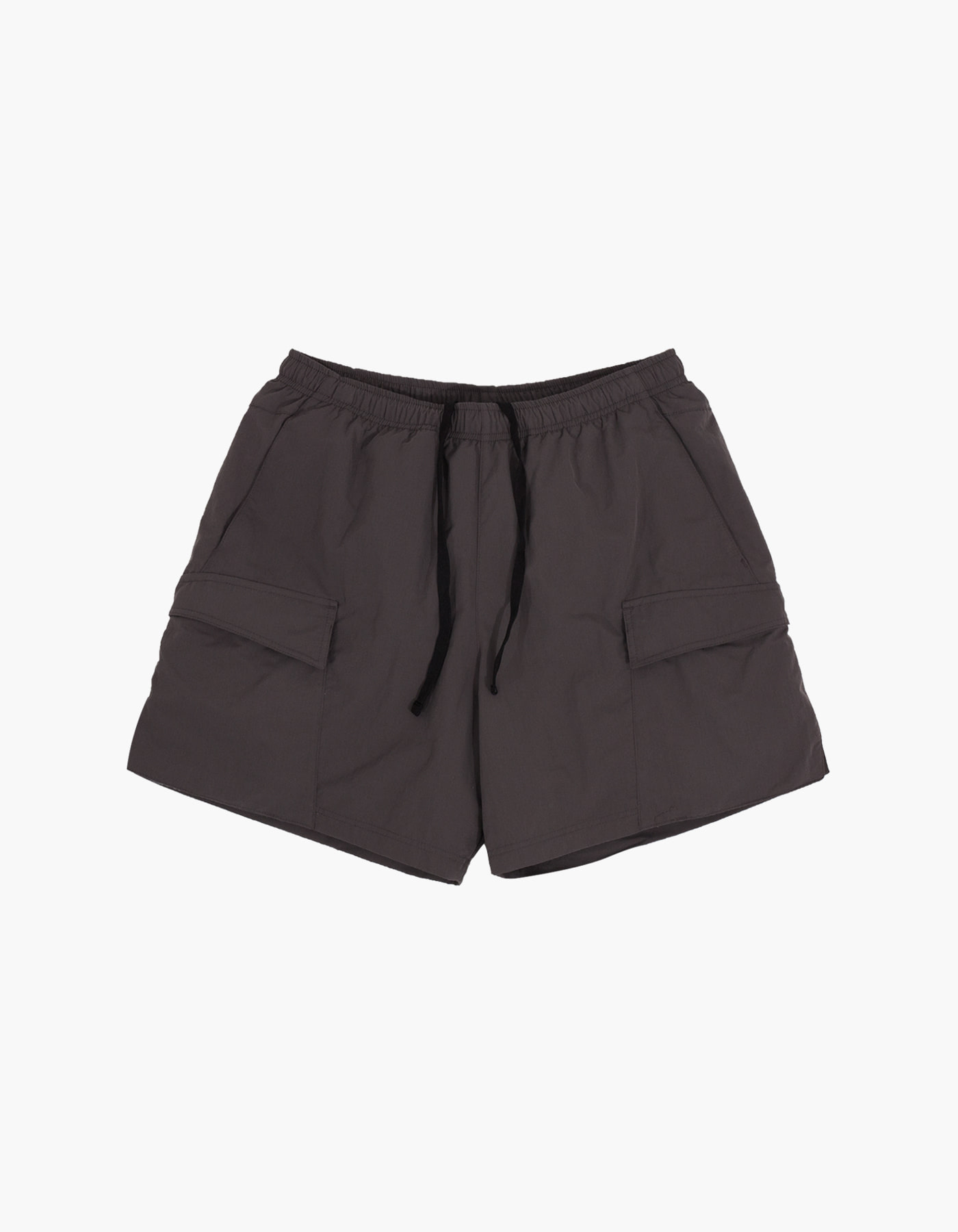NYLON TAFFETA WASHER SHORTS / CHARCOAL