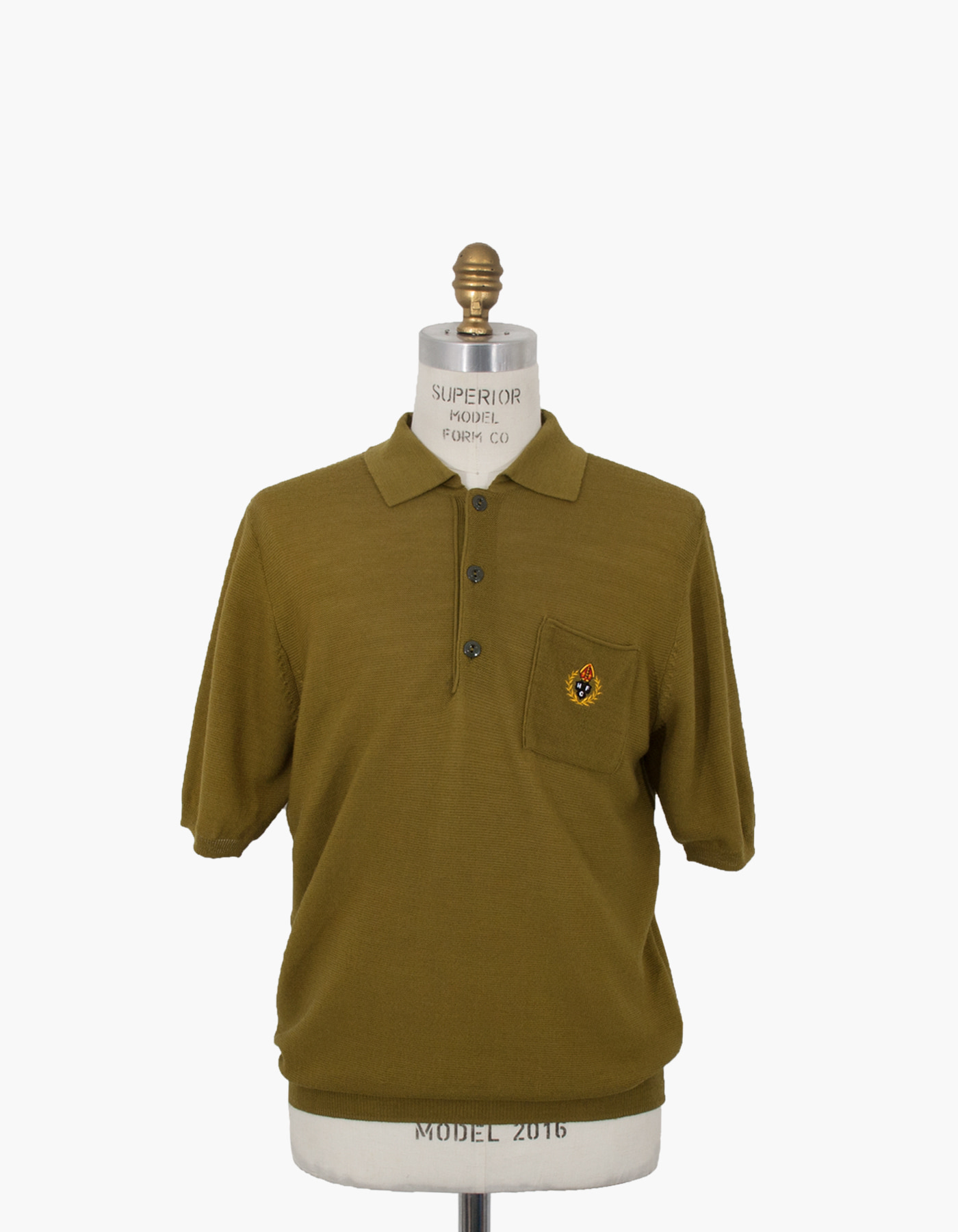 HFC CREST POLO SHIRTS / OLIVE