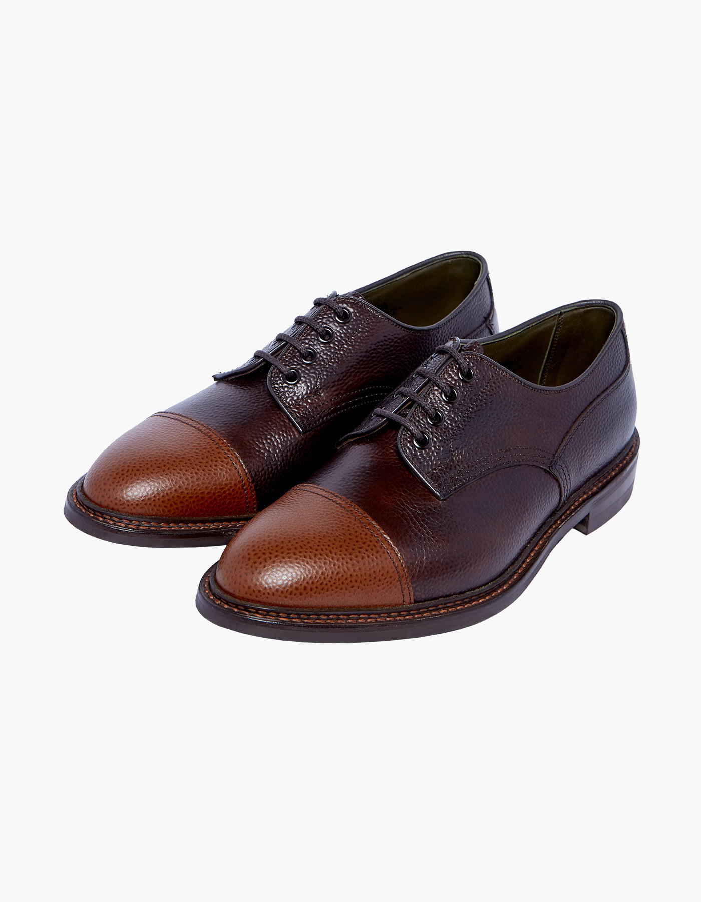 TRICKER'S X HERITAGEFLOSS CHADWICK (M) / BROWN