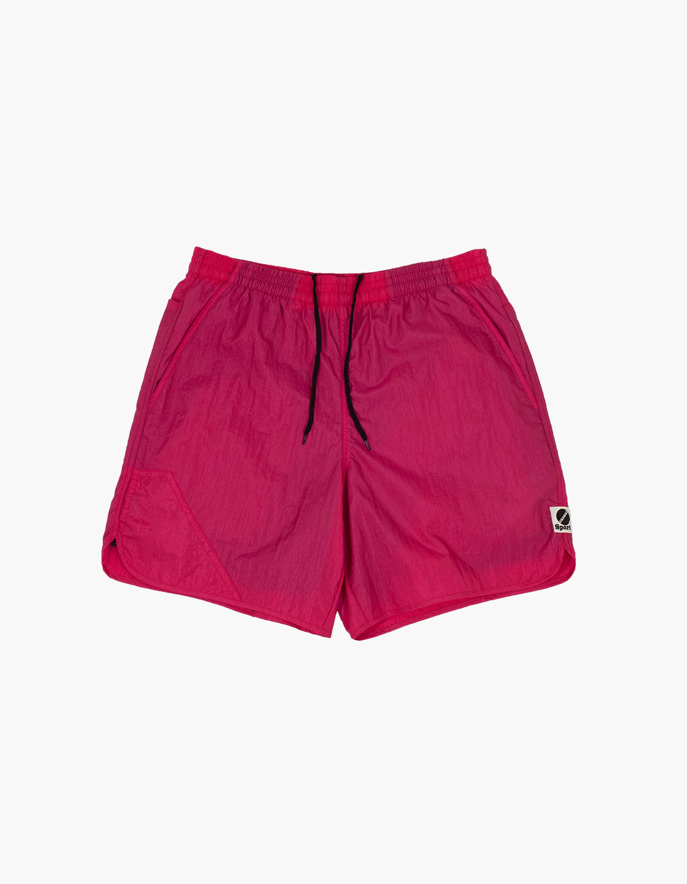 NYLON DIAMOND WASHER SHORTS / PLUM