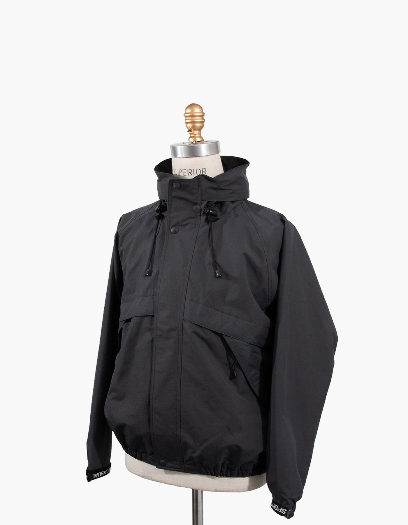 SAILING JACKET / DARK GREY