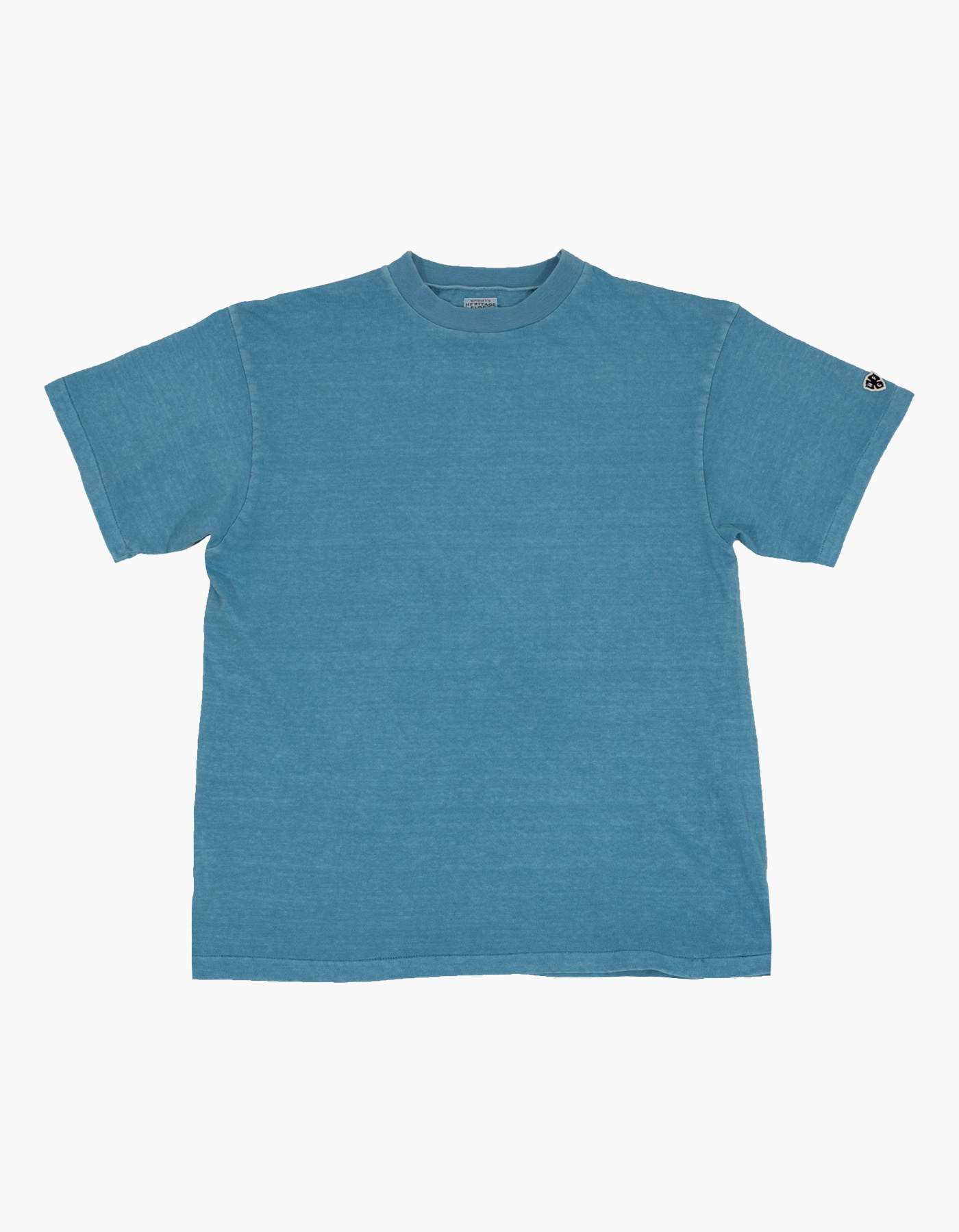 PIGMENT COMPACT YARN T-SHIRTS / SKY BLUE