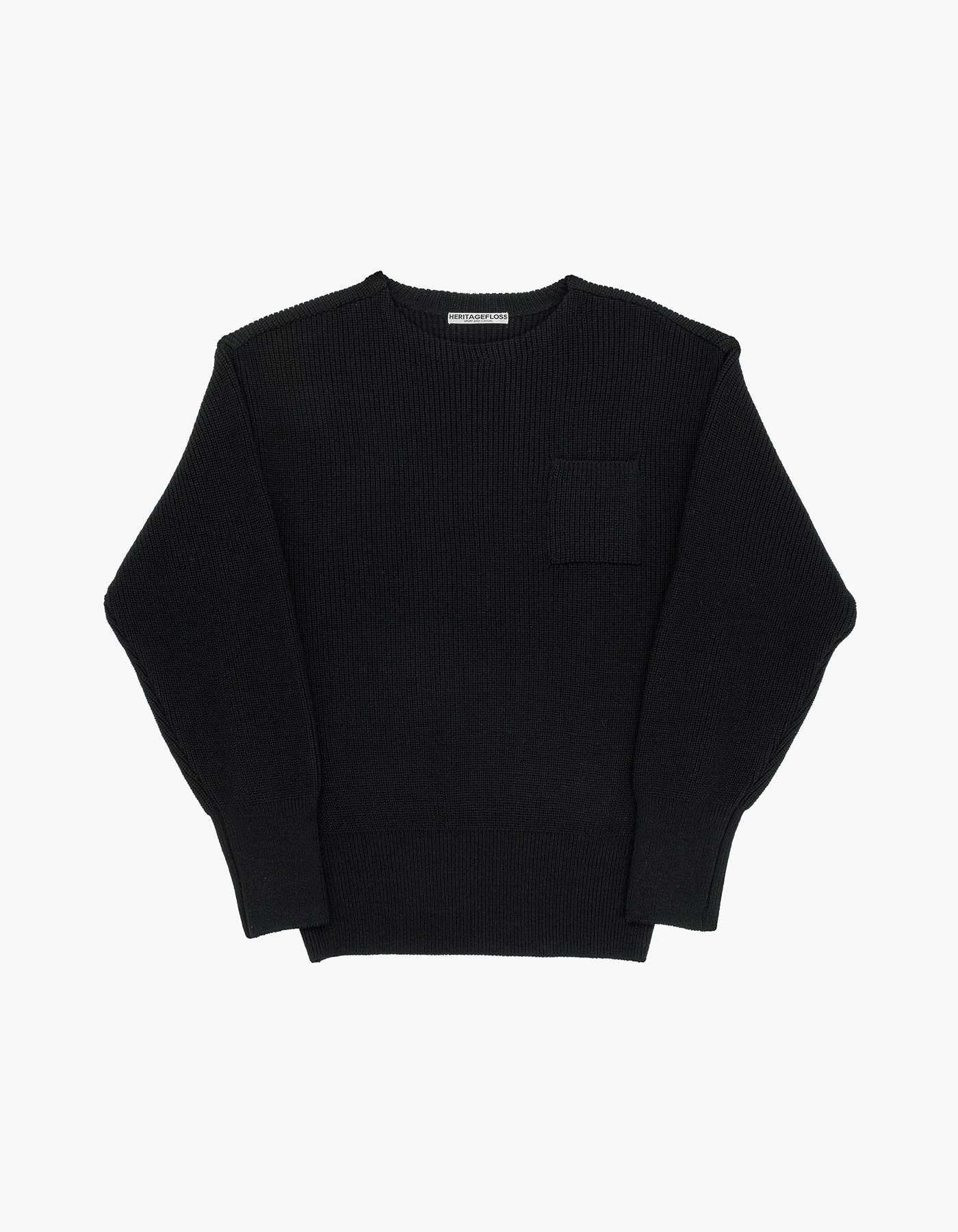WOOL KNIT / BLACK