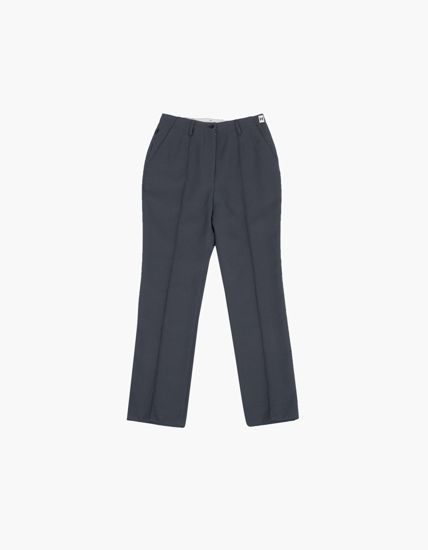 851 PIN TUCK CHINO PANTS (W) / CHARCOAL