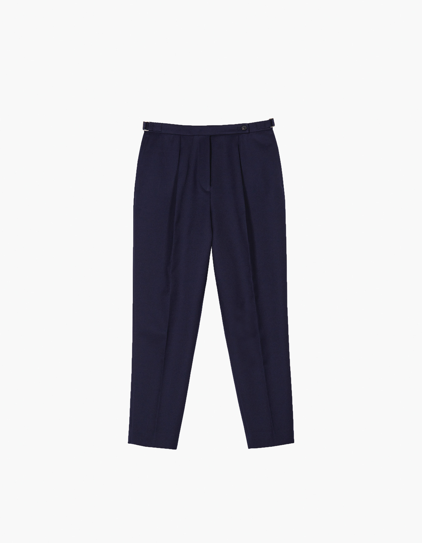 SARTORIA JUN TECHNIQUE X HERITAGEFLOSS PANTS (W) / NAVY