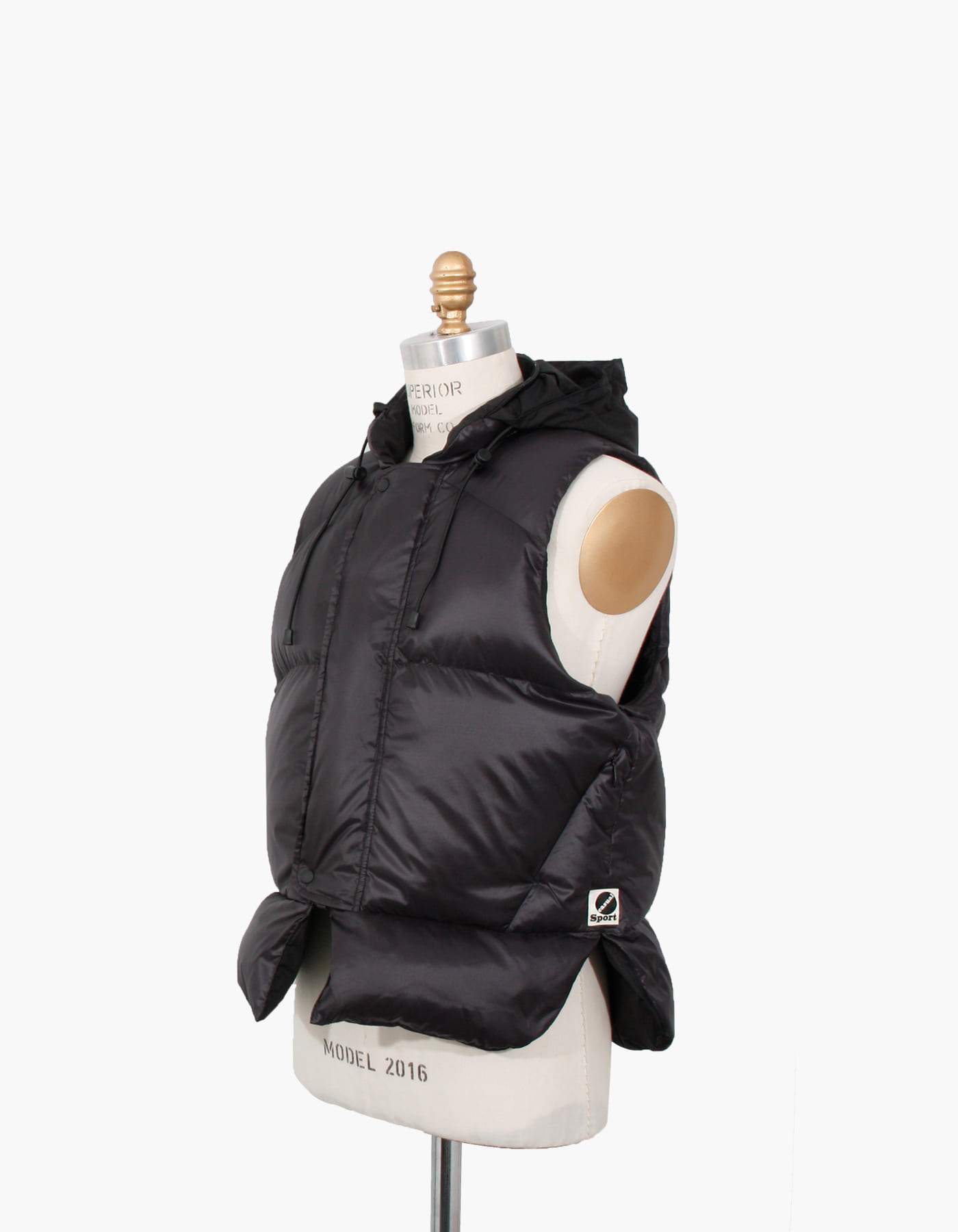 GOOSE DOWN LIFE VEST / BLACK