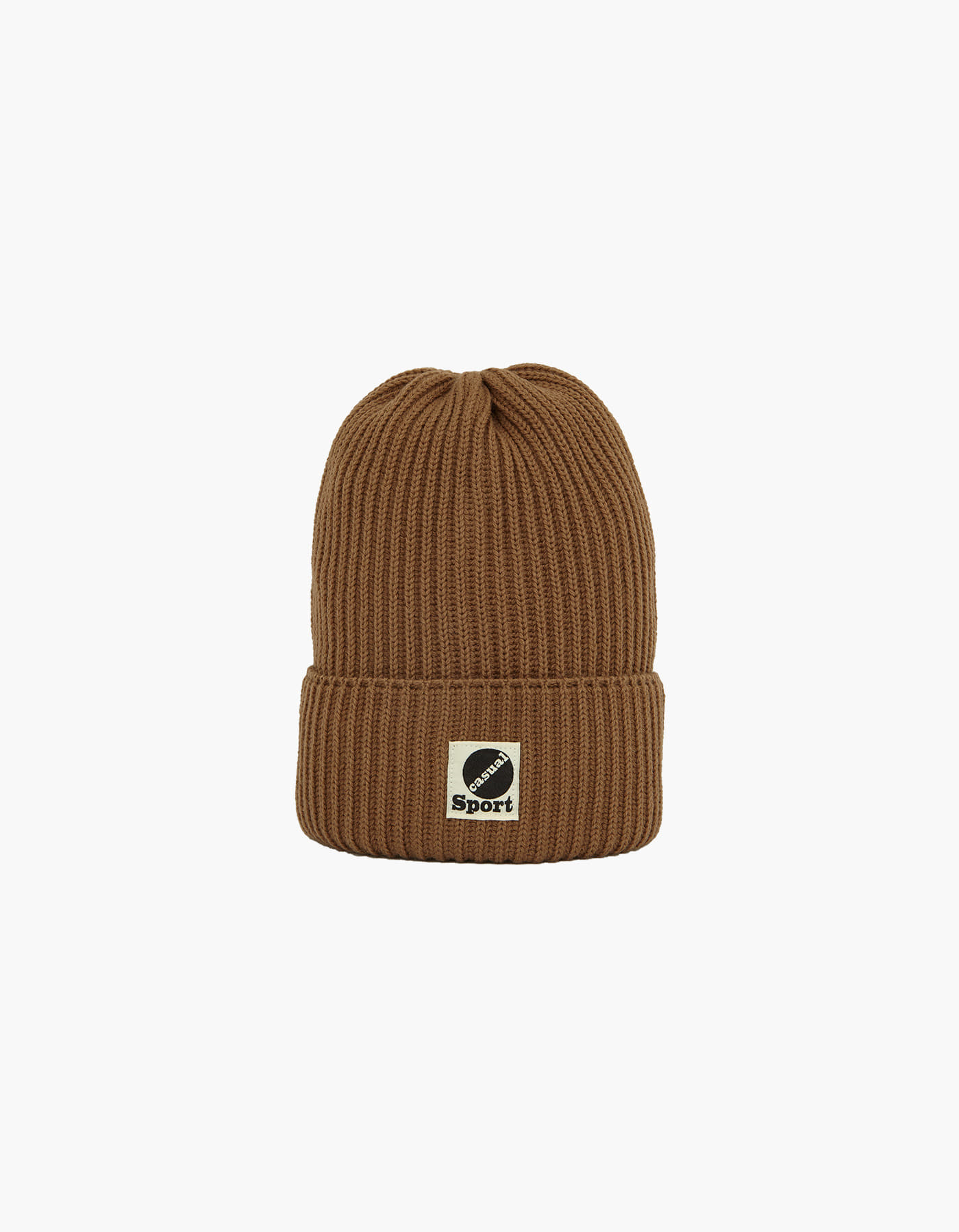 WOOL BEANIE / BROWN