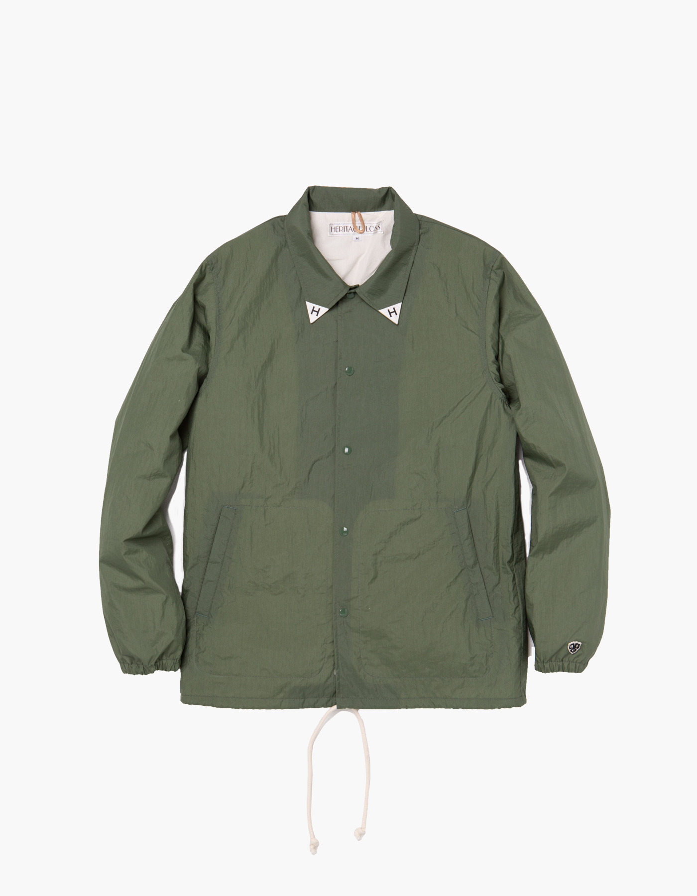 YACHT CLUB COACH JACKET / OLIVE