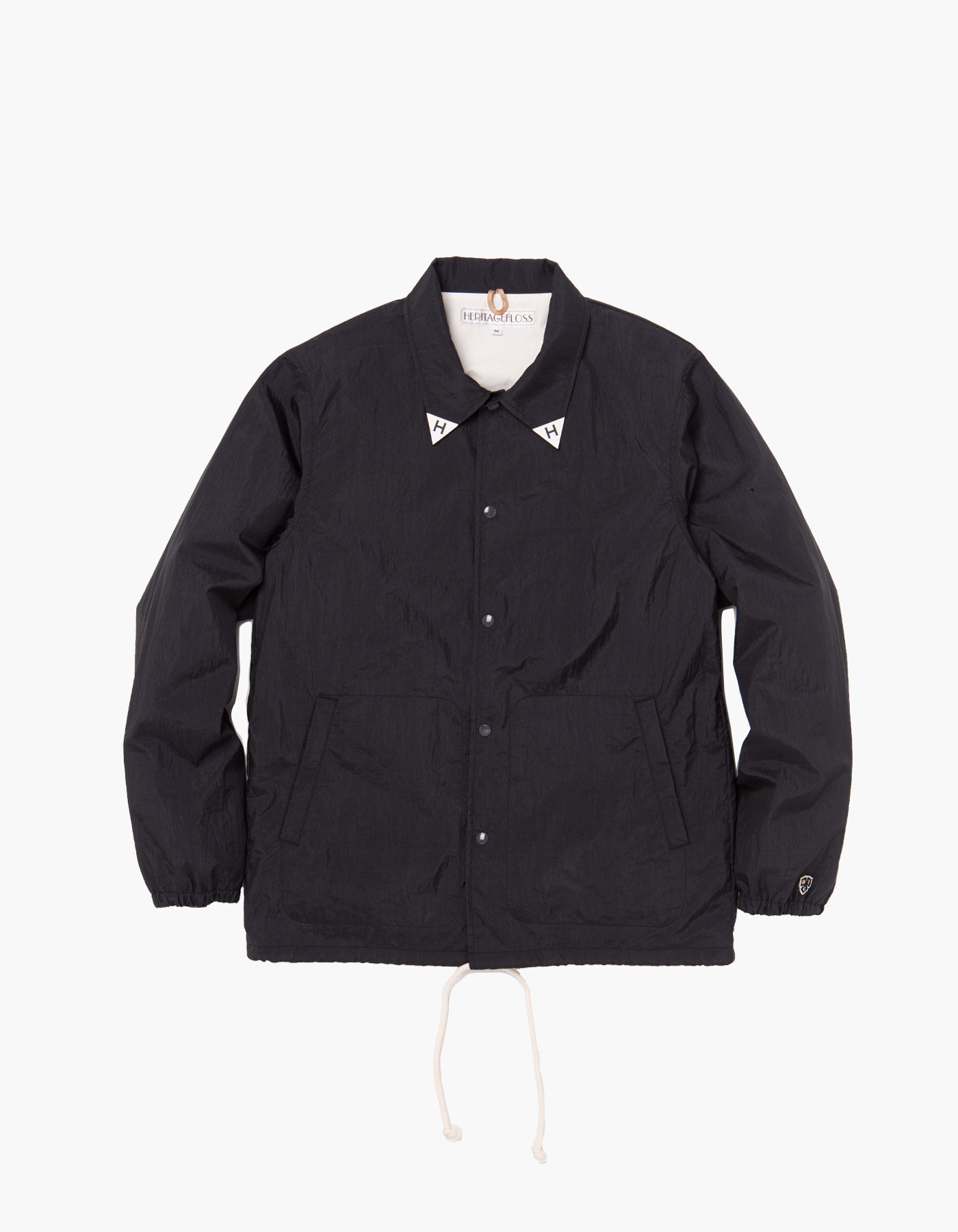 YACHT CLUB COACH JACKET / BLACK