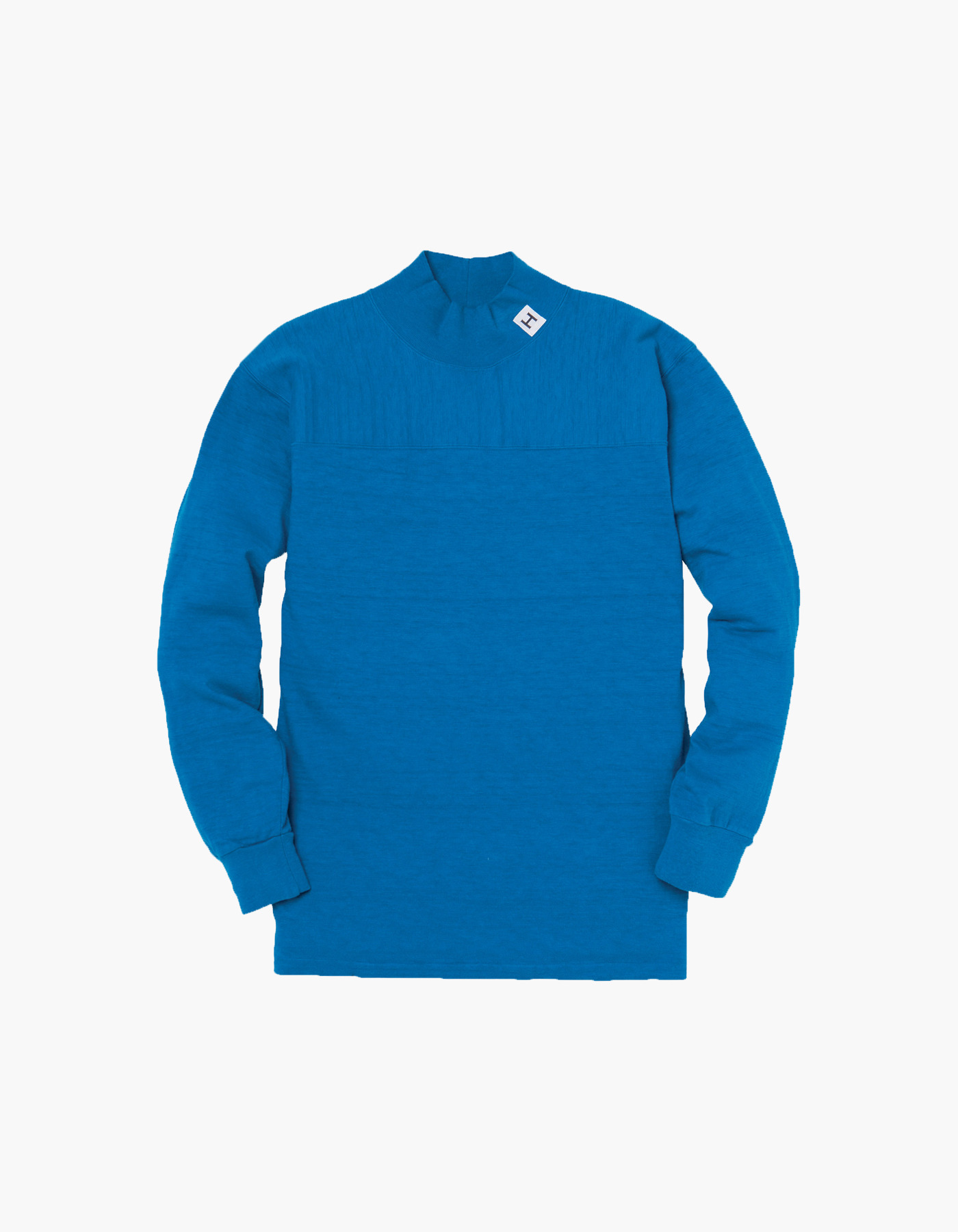 H FOOTBALL SLUB MOC-NECK BY DUBBLE WORKS / BLUE